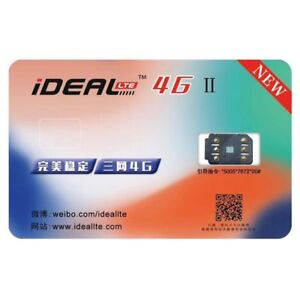 Perfect-Unlock-iDeal-2-Turbo-SIM-Cards-For-iPhone-X-8-7-6S-6-Plus-5S-SE-5-LTE