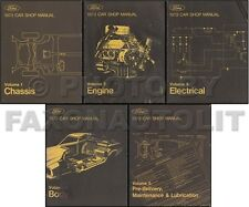 1973 Ford Shop Manual Torino Ranchero MX GT Montego Gran Thunderbird Galaxie 73