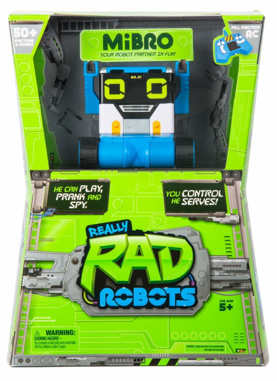 NEW Really R.A.D Robots Remote Control R C Mibro Fun Interatctive Birthday Gift
