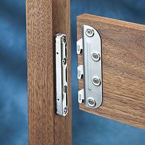 Galvanized Steel Bed Rail Shelf Brackets Supports ...