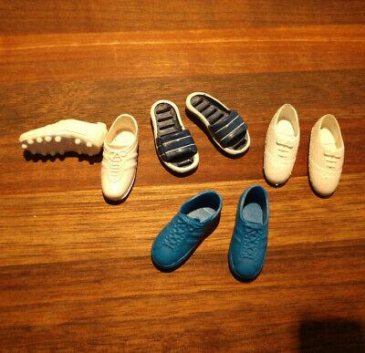 KEN DOLL MAROON WHITE TEXAS A /& M SNEAKERS Fashion Shoes MINT by MATTEL
