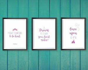Camera Da Letto Rosa E Viola : Disney prints cinderella bedroom a set of bedroom decor