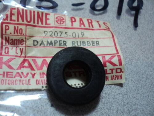 1966-80 KAWASAKI H1 H2 A1 A7 C2 F3 F7 RUBBER DAMPER NOS OEM 92075-019