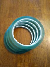 4 Rolls Of Sublimation Tape Heat Resistant Heat Transfer Green 8mm X 33m