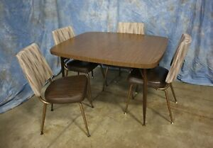 1960 S Vintage Mid Century Modern Retro Kitchen Table 4 Kayson Chairs Ebay