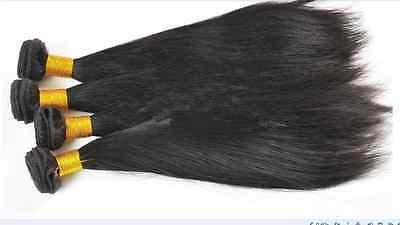 100% virgin Brazilian Bundle hair remy human hair weft Weave extensions 100g