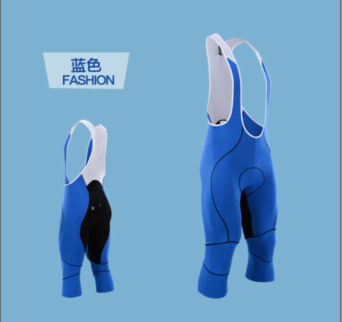 New team cycling bib Pants 3//4 Leg Cycling Shorts Racing Tights Short bib Pant