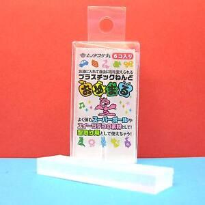 Oyumaru-Modeling-Compound-Moulding-Stick-Clear-6-pcs-set