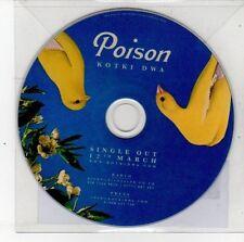 (DS714) Poison, Kotki Dwa - 2012 DJ CD