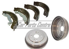 FOR ROVER MG ZS ZR 45 25 214 216 REAR HAND BRAKE SHOES & DRUM DRUMS HANDBRAKE