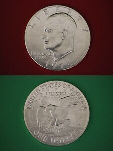 1971-S-40-Silver-Uncirculated-Eisenhower-Dollar-Ike-Combined-Shipping