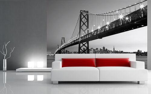 Wall mural wallpaper Cityscape GIANT WALL ART New York San Francisco Brooklyn