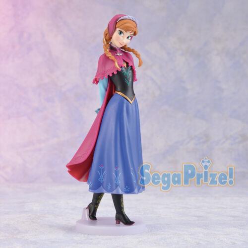 FROZEN Premium Figure Elsa Anna Set of Complete 4 SEGA Luckykuji Disney FROZEN2