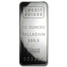 10 oz Palladium Bar - Secondary Market - SKU #61606