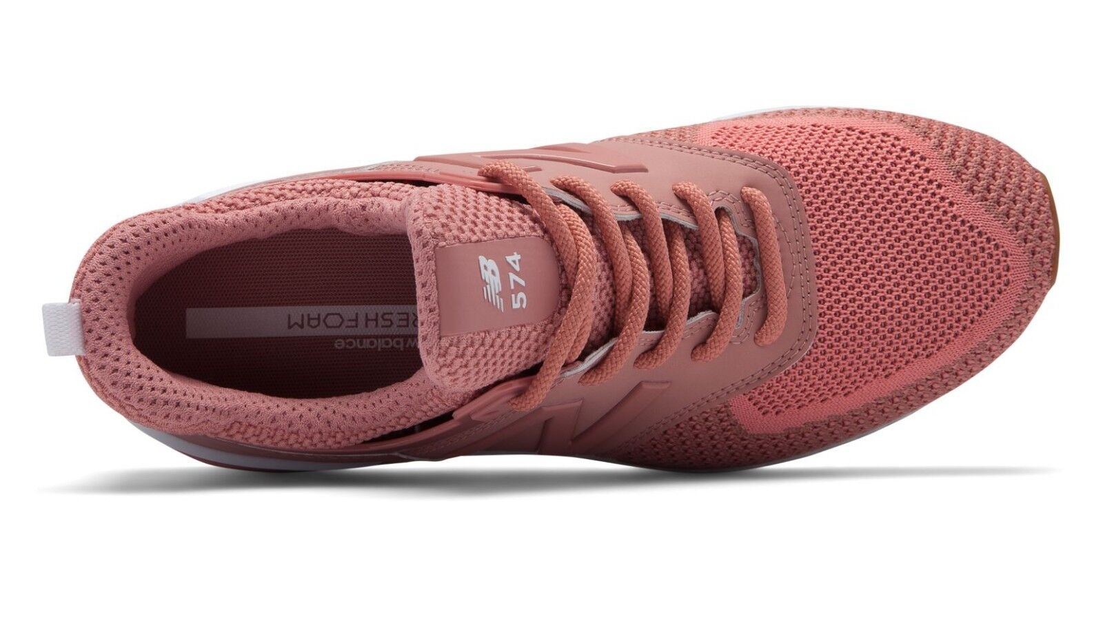 NEW BALANCE PINK WOMEN WS574WC 574 SPORT DUSTED PEACH PINK BALANCE Lifestyle Sneakers 6-10 003094