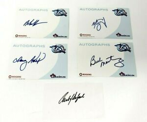 Toronto-Blue-Jays-25th-Season-MLB-Autographs-Lot-2001-Rogers