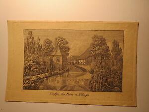 Ambitieux Influence De La Corde Dans Göttingen-livret De Famille Feuille Hildesheim 1827 Heneriette-afficher Le Titre D'origine