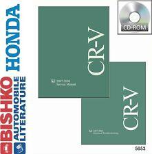 2007 2008 Honda CR-V CRV Shop Service Repair Manual CD