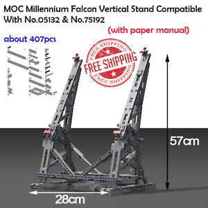 greenical Display stand for millennium millennium millennium falcon compatible ultimate 05132 & 75192 f3ee61