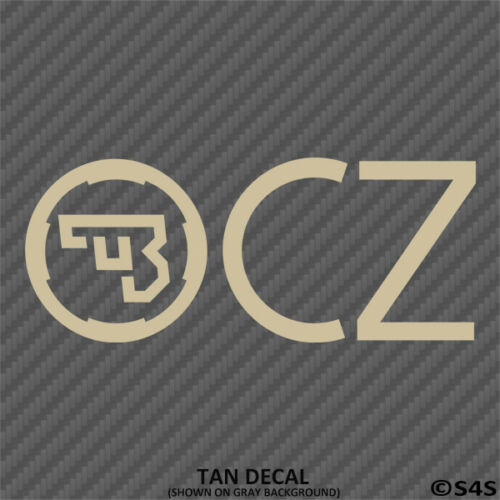 Choose Color CZ Firearms Hunting//Outdoor Sports Decal Sticker