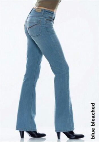 Premium 44 Neu Tubo 48 46 Blau H s Lina Usato Gr Jeans Stretch L32 i Bootcut 42 qU0Twt