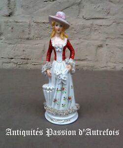 Ensoleillé B20171050 - Figurine De 21 Cm En Porcelaine 1950-70 - Tb état