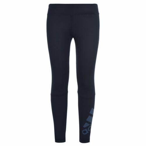 ADIDAS TR Long Tight Ragazze Performance Collant Pants Pantaloni Bottoms