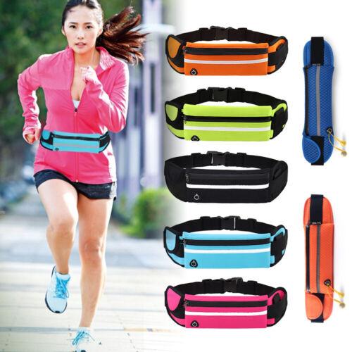Portable Universal Bag Sport Running Belt Cycling Waist Pack Bottle Holder A6