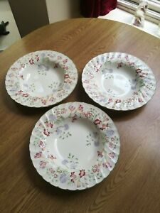 Churchill-scalloped-rimmed-3-x-multi-use-bowls-8-75-034-22cm-super-floral-pattern