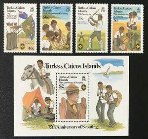 Turks & Caicos Is. 1982** Pfadfinder / scouts Postfrisch MNH - Nürnberg, Deutschland - Turks & Caicos Is. 1982** Pfadfinder / scouts Postfrisch MNH - Nürnberg, Deutschland