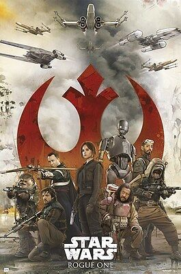 Mini Poster Rogue One Enlistate Ahora