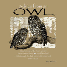 ADVICE FROM A OWL SMALL  ADULT T-SHIRT