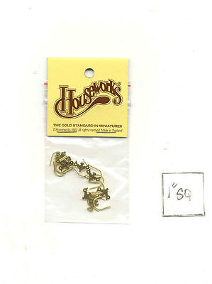 Drawer Pulls 43102 miniature dollhouse hardware 12pcs Chippendale 1//12 Scale