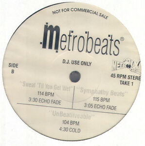 Details about Metromix Metrobeats 1 - beats & effects R&B/Rap (Ultimix,  Mixx-it)