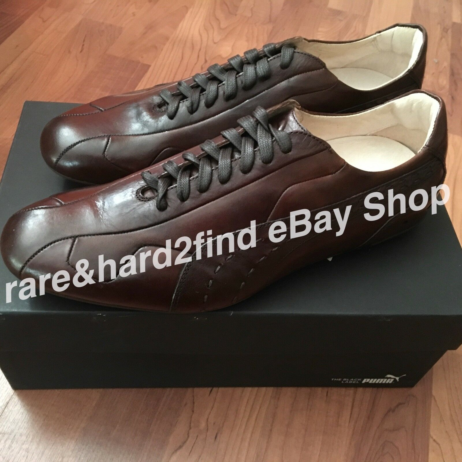 Puma KING RE-LUXE shoes BROWN UK9 Black label 96 HOURS Neil Barrett RARE