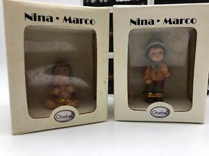 Goebel Figur Nina & Marco Figuren 2 Stk. bis ca. 6 cm 1 Wahl mit Ovp