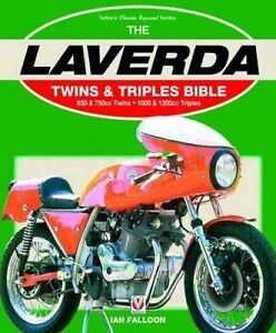 Laverda-Twins-amp-Triples-Bible-Ian-Falloon-Author-signed-750-SFC-1000-Jota-1200