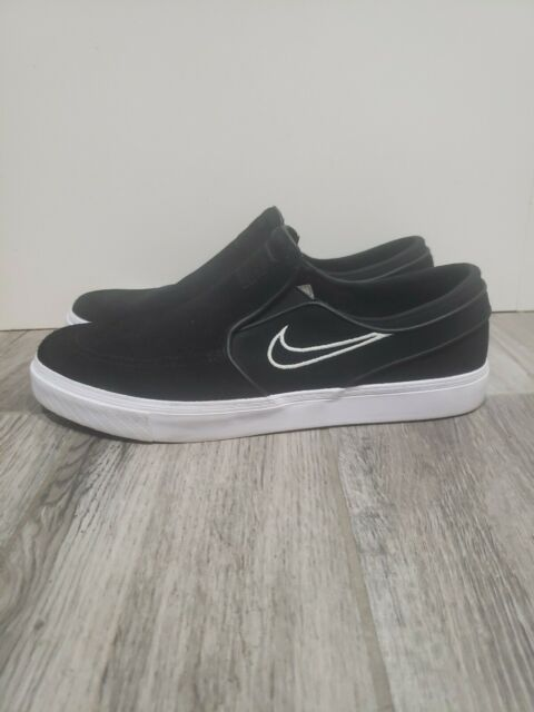 camuflaje Pólvora Asociación  Nike Zoom Stefan Janoski Slip on CNVS Canvas Black White Mens Shoes  831749-010 11.5 for sale online | eBay