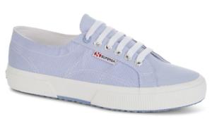 UK 11 RRP £55 Pinstripe **50/% OFF!!** SUPERGA 2750 Cotu Classic Sneakers