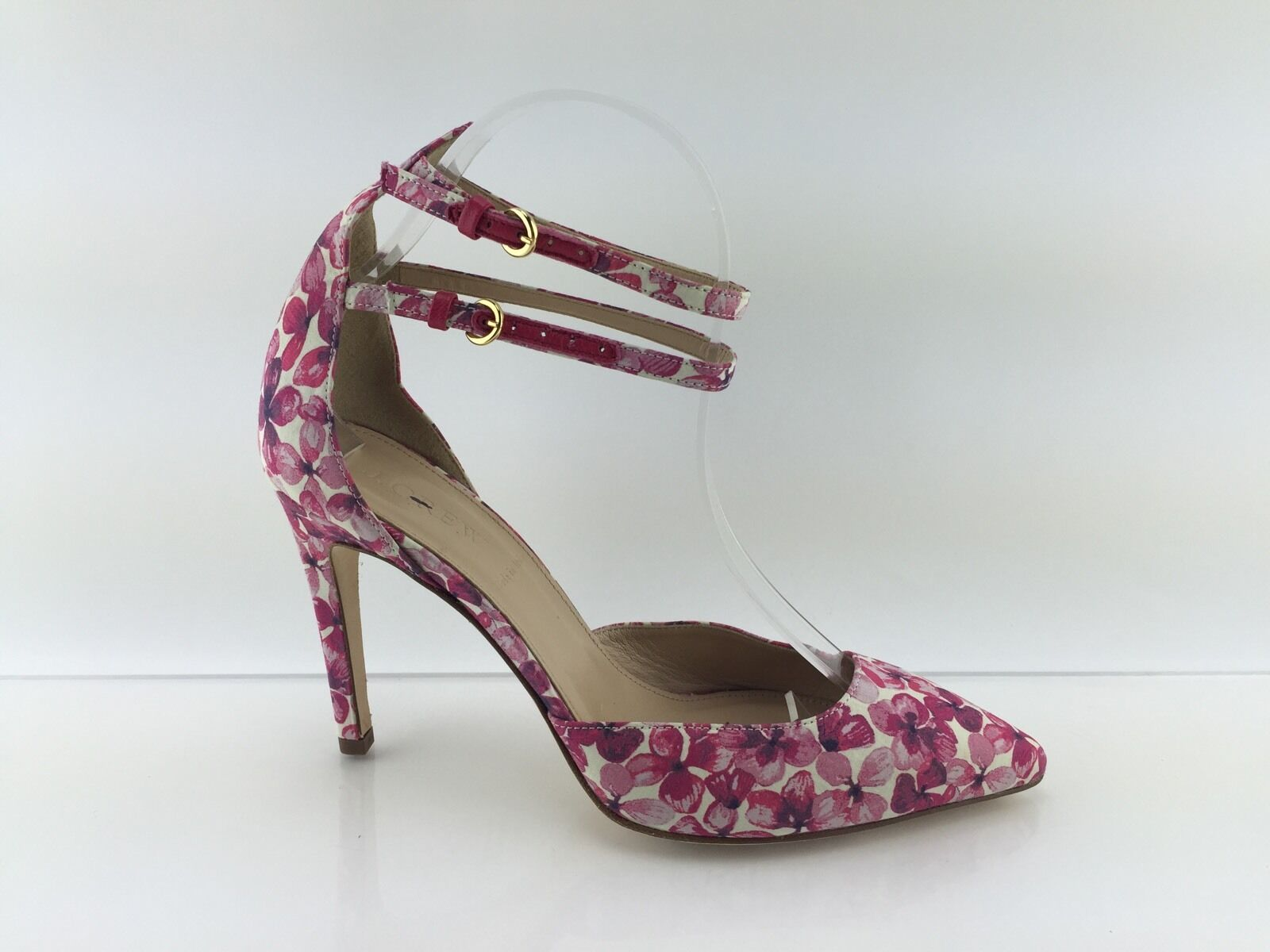 J Crew Women's Pink Multi color Heels 7