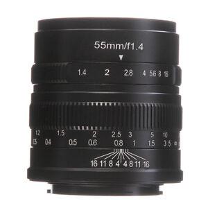 7artisans-55mm-f1-4-manuelle-objectif-pour-Canon-EF-M-EOS-M6-M10-M100-M50-M5-M3