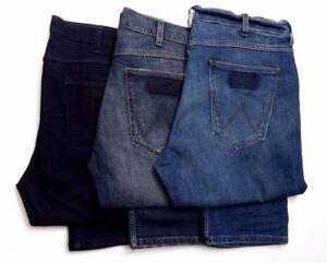 "Mens Ex Wrangler Greensboro ""Stay Warm"" Jeans RRP £80 (SECONDS) WA119"