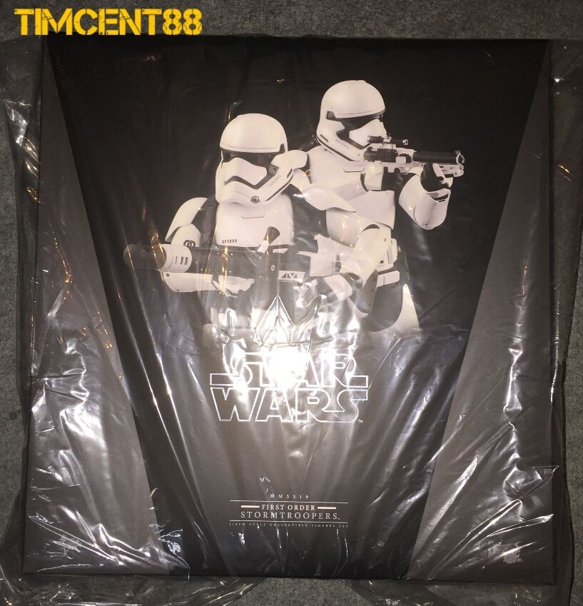 heta leksaker MMS319 stjärnornas krig EP VII The Force Awakens First Order Stormtroopers Set
