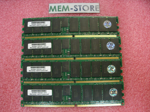 AH254A 16GB 4x4GB PC2-4200 Memory HP Integrity BL870c