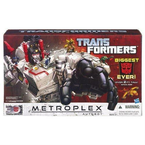 Hasbro Transformers Generations Titan classee Metroplex with Autobot  azione cifra  outlet in vendita