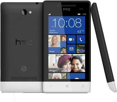 1 of 1 - NEW CONDITION HTC 8S BLACK 3G (UNLOCKED) WINDOWS SMARTPHONE WITH WARRANTY