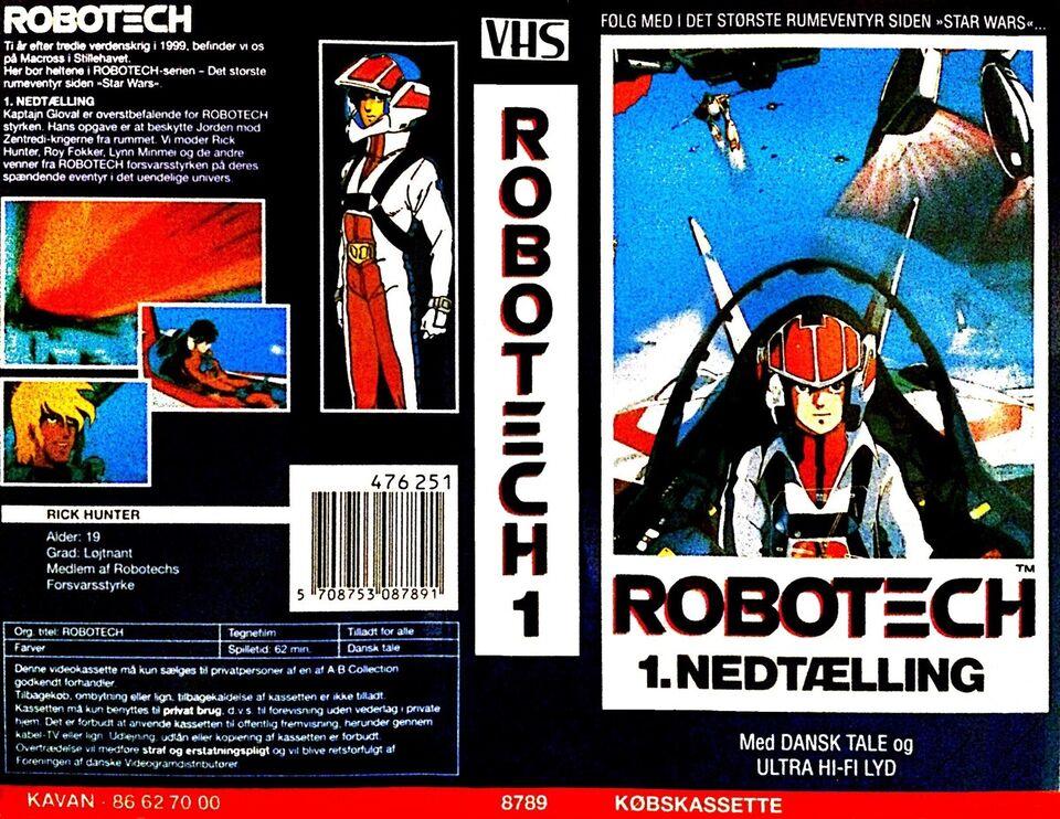 Serie, Dansk Robotech