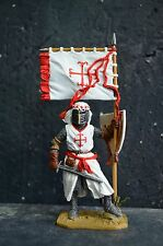 Knight Of The Order Of Calatrava. Spain, 13th century, hand painted tin soldier