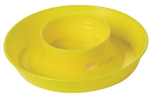 LITTLE GIANT MASON JAR BASE Combines w//1Qt Jar to Make Gravity-Feed Waterer YLW