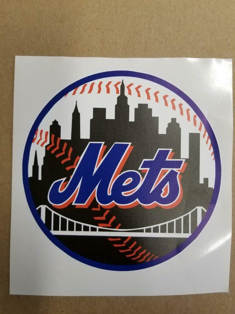 New York Mets cornhole board or vehicle decal(s)NYM6